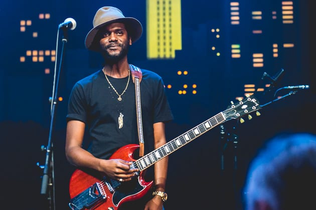 gary clark jr kicks off national tour by blowing the roof off the fillmore in miami. Black Bedroom Furniture Sets. Home Design Ideas